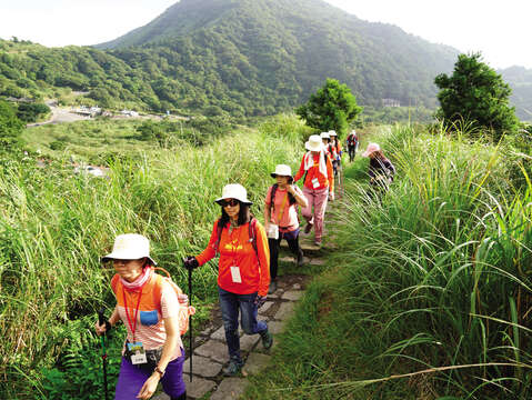 Yangmingshan National Park is especially suitable for friends and families who like outdoor activities. (Photo / Taiwan Scene)