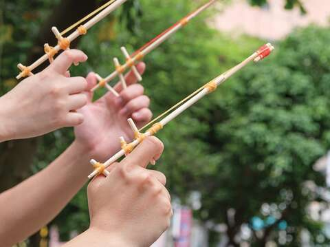 Traditional toys (Photo/Taiwan Scene)