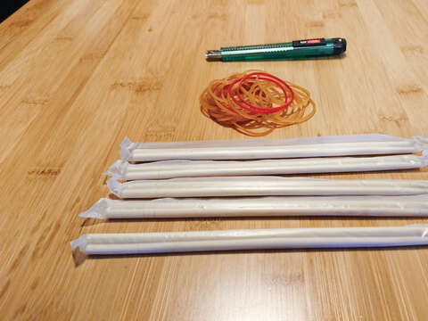Bamboo gun DIY materials