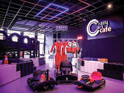 Crazy Cart Café is not only known for its Go-Kart tracks, but also its mouth-watering dishes. (Photo/Crazy Cart Café)