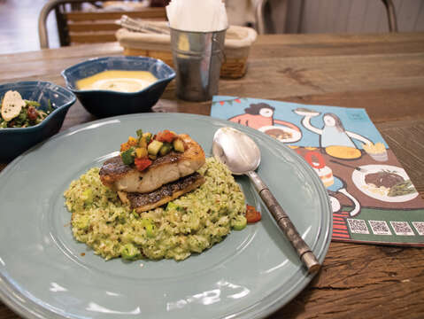 ​​​​​​​Farm Table offers parents the chance to stimulate children's interest in cooking by using healthy and organic ingredients. (Photo/Taiwan Scene)