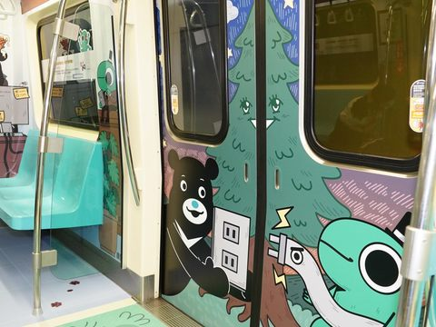 Bravo, Incrediville Chief Join Hands to Unveil New MRT Train Wrap