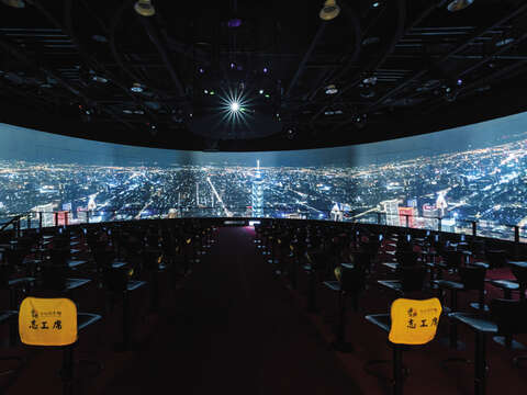 Yeah! Taipei is a new release at the Discovery Theater, with a 360-degree screen to provide an unprecedented experience.
